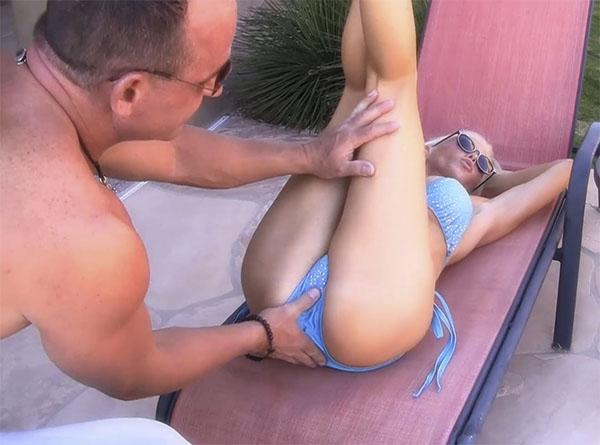 Курортный перепих с гламурной дамой