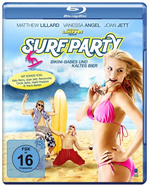 Пляжная вечеринка / National Lampoon Presents: Surf Party (2013) HDRip | КПК