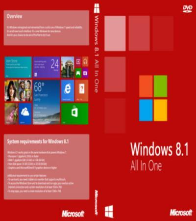 Microsoft Windows 8.1 AIO 20in1 with Update (x86) en-US May2014