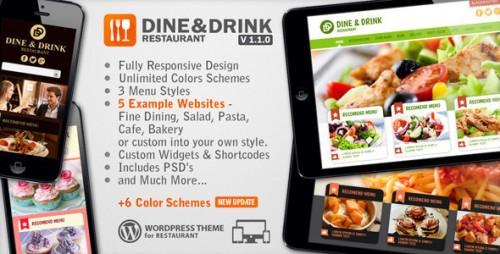 Best Premium Restaurant Wordpress Theme Pack [10 nulled themes]