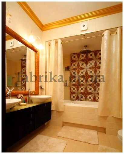 Дизайн ванной комнаты в стиле арт деко  - рекомендации прораба