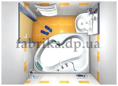 Планировка ванной комнаты - легко и быстро
