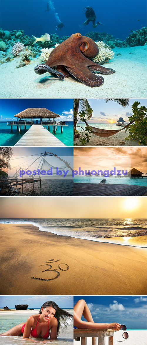 Stock Photo: Indian Ocean