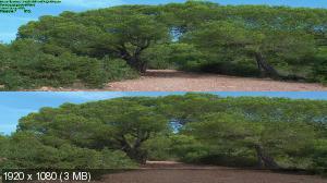 Ибица 3Д / Ibiza 3D ( by Ash61) Вертикальная анаморфная