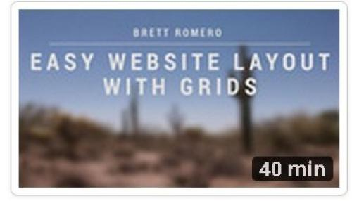 Easy Website Layout with Grids