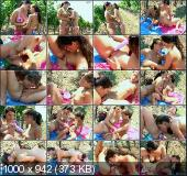 ClubSevenTeen - Jenny, Alma - Lesbian Fun In The Orchard [SD]