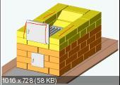 Готовые проекты печей, каминов, мангалов и барбекю (2012-2013)