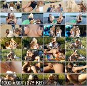 CollegeFuckParties - Grace, Autumn, Savannah, Molly, Olie - Hot University Girls Fuck In Cottage Part 3 [HD 720p]