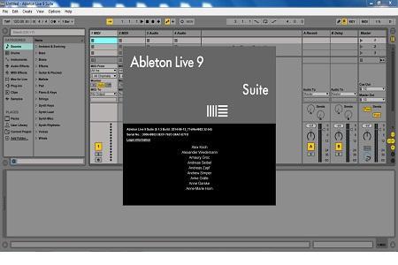 Ableton - Live ( v.9.1.3 Suite, 2014 )