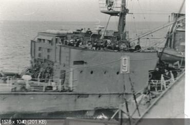 эсминец потопленный подводной лодкой