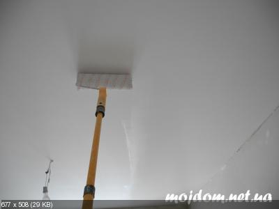 Покраска потолка   B04baad15b62d6e346c27a2b45650920